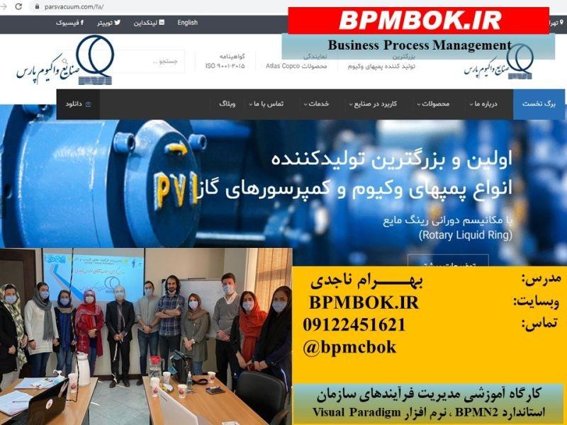 شرکت صنایع وکیوم پارس-دیماه 1399