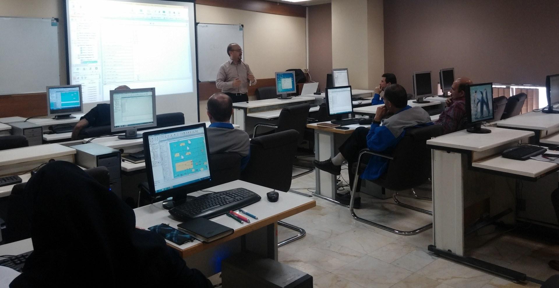 ساپکو-مهرماه 1395-کارگاه مدلسازی فرآیندهای سازمان-BPMN2