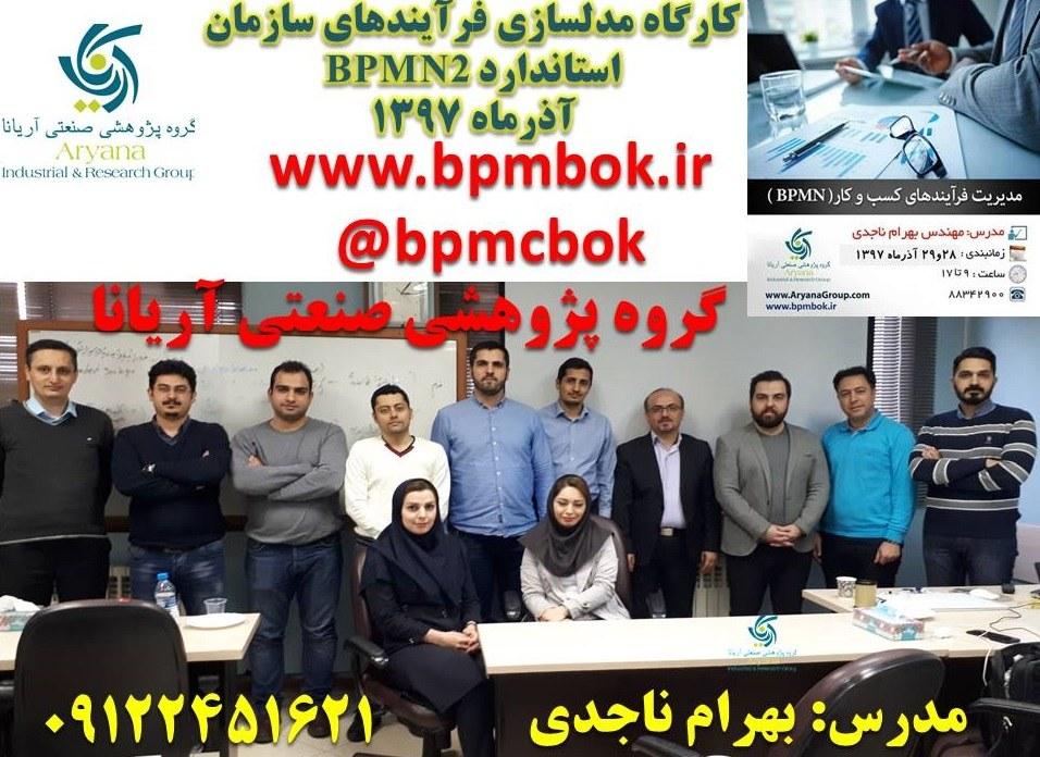 گروه پژوهشی صنعتی آریانا-استاندارد BPMN2