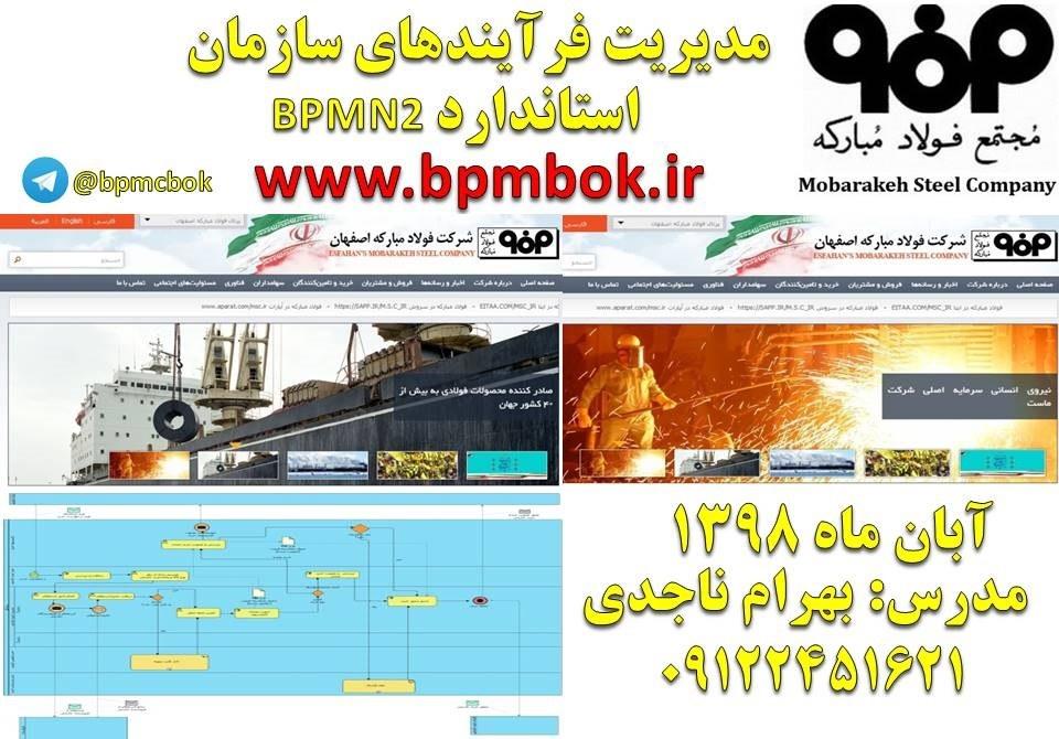 فولاد مبارکه اصفهان-آبان ماه 1398