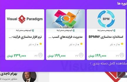 آموزش الکترونیک BPMN2-سایت هم آموز