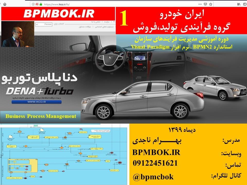 ايران خودرو-ديماه و بهمن ماه 1399- 4 دوره آموزشي