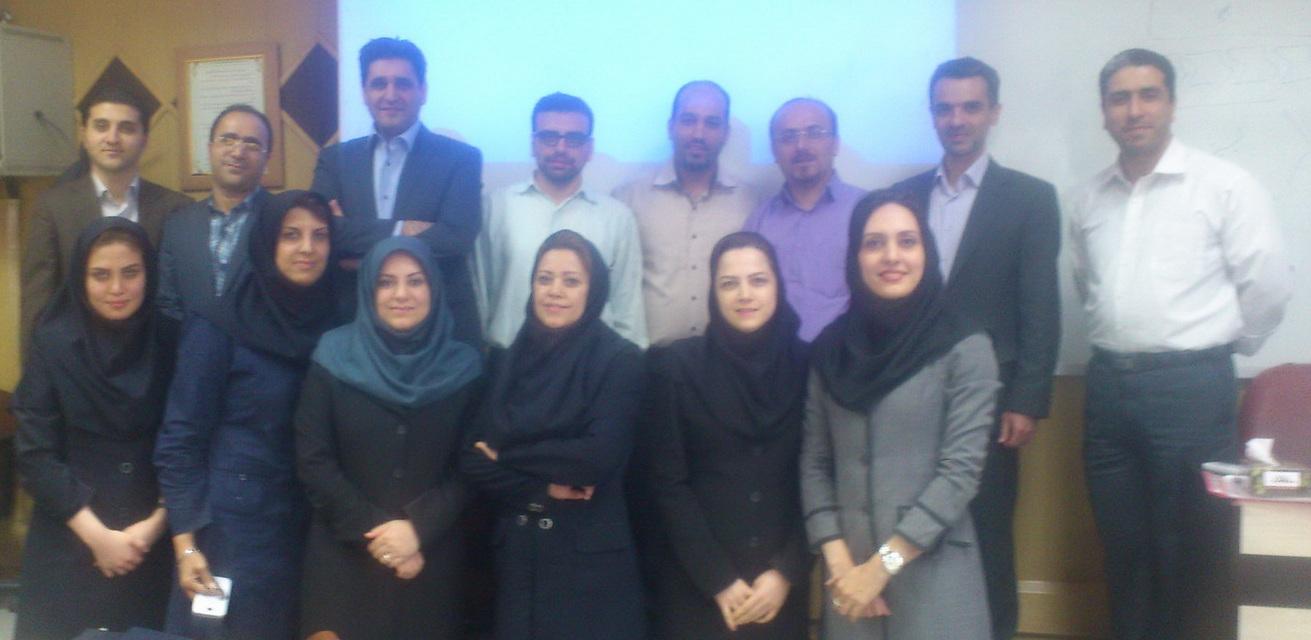 بانک ملت- کارگاه دوم مدیریت فرآیندهای سازمان- اردیبهشت 1394